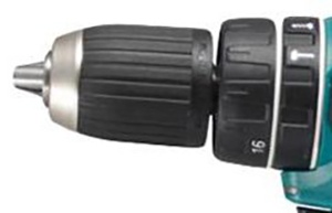 Drills with reinforced chuck are more accurate and comfortable to use